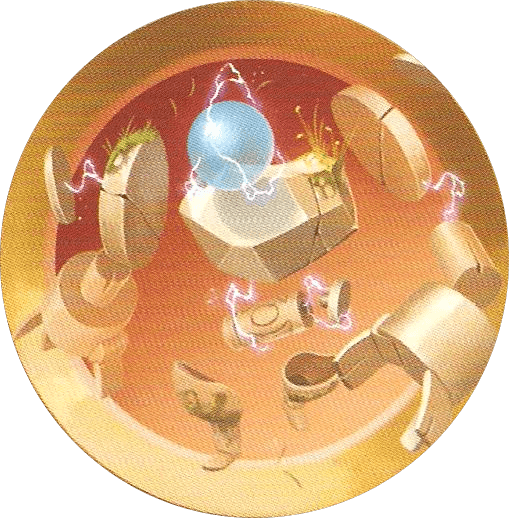 Illustration de la carte Le Golem du Temps